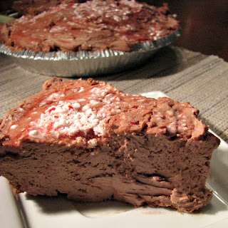No-Bake Chocolate Peppermint Cheesecake