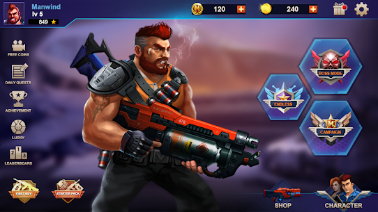 Metal Squad MOD 1.5.4 (Unlimited Coins/Bullets/HP/Bombs/No-Ads) Apk 5