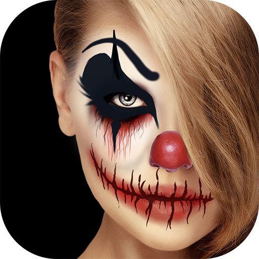 Scary Clown Face Maker - Creepy Photo Effects