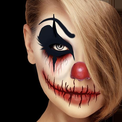 مهرج مخيف صانع الوجه احلي برنامج تأثير الصورة التطبيقات على