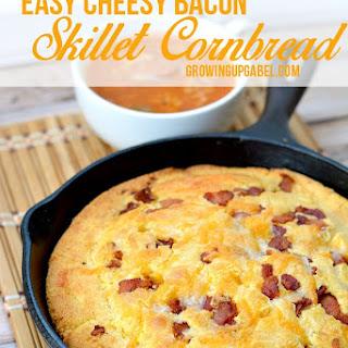 Easy Cheesy Bacon Cornbread
