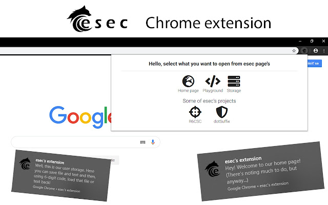esec's extension