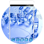 Cool Summer Theme: Ice cube neat wallpaper Icon