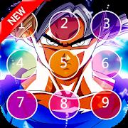new Goku lockscreen themes dragon super ball 2018