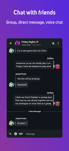 GamerLink - LFG & Voice Chat for Gamers! screenshots 3