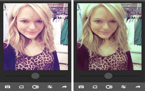 Cupslice selfie editor