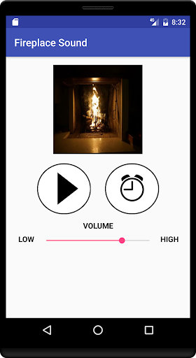 Fireplace Sound 1.6 screenshots 1