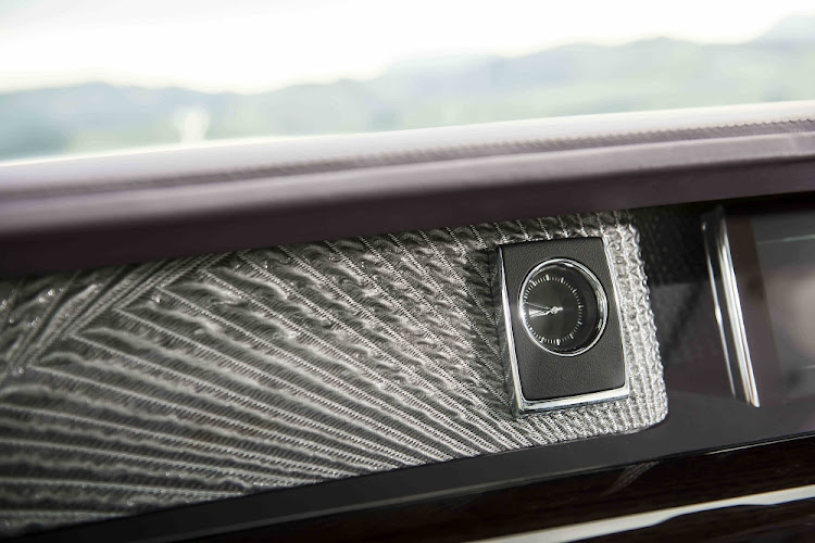The Gallery is a piece of art behind the dashboard glass that you can have commissioned. Picture: ROLLS-ROYCE MOTOR CARS LTD