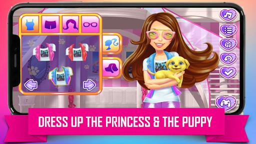 Princess Puppy Care : Pet Caring & Dress Up android2mod screenshots 3