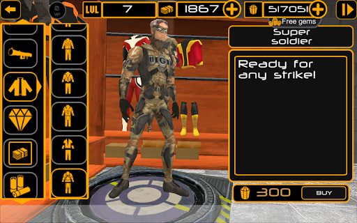 Naxeex Superhero  captures d'écran 2