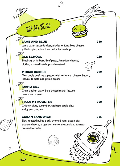 Monkey Bar menu 7