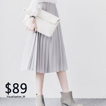 - 🎨多色中長百褶裙🌼 顏色:灰-黑-粉紅-酒紅-綠 尺碼:均碼 價錢:$89 🌼如有興趣,可DM/Whatsapp 5167 9483店主💓。 #hkig #fashion #hkgirl #hkonlineshop #hkseller #hkstore #852shop #衫 #褲 #裙 #鞋 #袋 #飾物 #雪紡裙 #外套 #女裝 #短裙 #短褲 #韓系 #韓風 #韓國 #文藝 #文青 #小清新 #百褶裙
