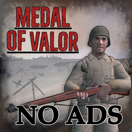 Medal Of Valor D-Day WW2 NO ADS