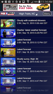 Fox8 Max Weather- screenshot thumbnail