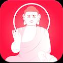붓다폰앱 - 부처님말씀,경전읽기,법문,불교교리,불교음악 icon