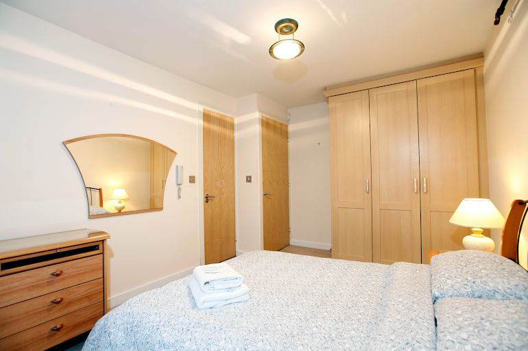Luxury bedroom at Packington Place