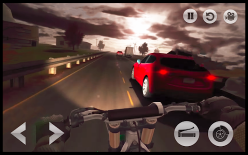 Motorcycle Road : Racing Rider Simulation Game 3D - náhled