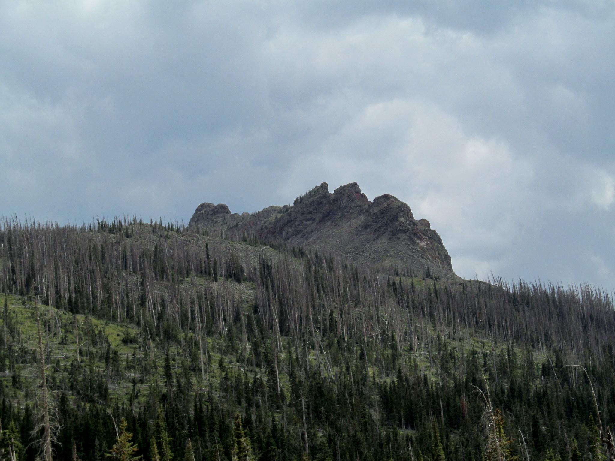 Photo: Marvine under an increasingly cloudy sky