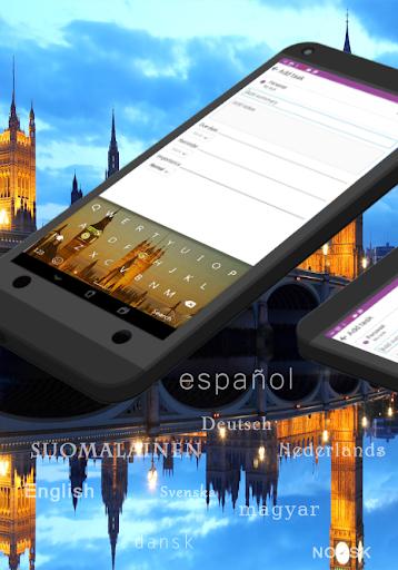 GO Keyboard United Kingdom UK