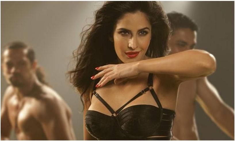 Katrina Kaif hot in black dress in dhoom 2 title song