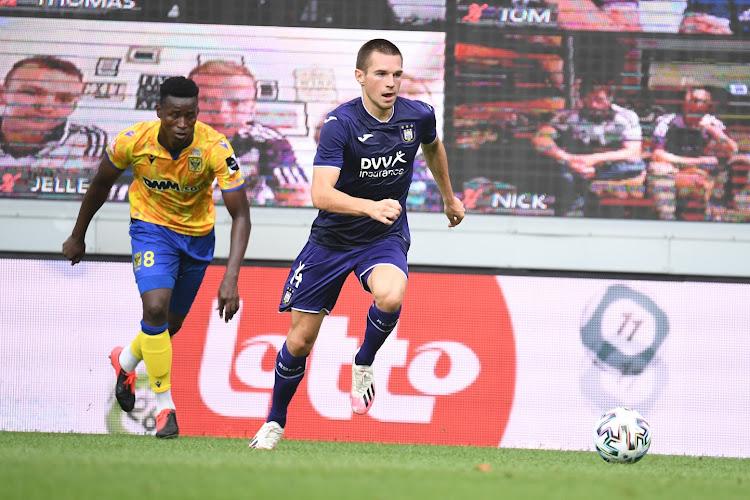 Le joueur d'Anderlecht testé positif au Covid-19 est connu