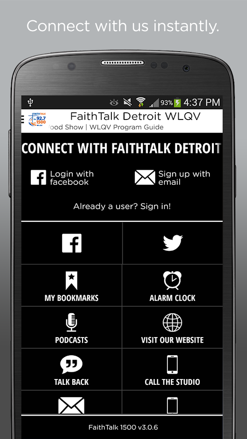 FaithTalk Detroit WLQV- screenshot