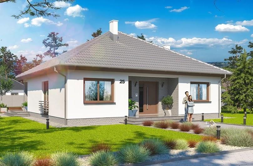Projekt domu Tryton Teriva