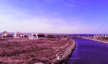 Photo: c'est tout au bout de la route, vous devez franchir le pont romain, soit à pied, ou en voiture pour les plus culottés
