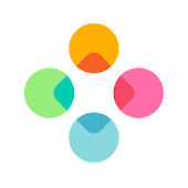 Fleksy - Chat with gifs/stickers, web search & fun