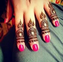 Finger Mehndi designs - screenshot thumbnail 02