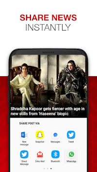 News By The Times Of India APK screenshot thumbnail 8