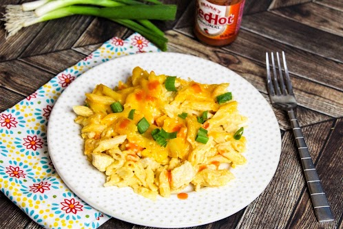 AnnMarie's Buffalo Chicken Wing Mac and Cheese