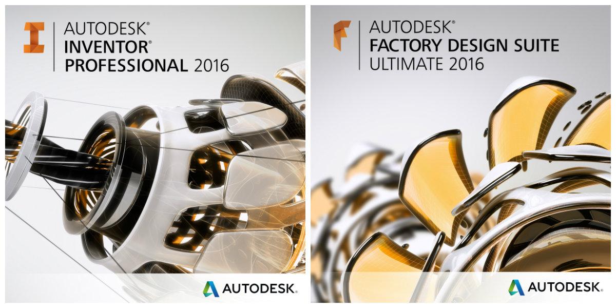 Обновления для Autodesk Inventor 2016 и Factory Design Suite 2016