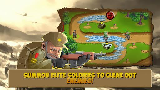 Télécharger Code Triche Tower Defense: Clash of WW2 MOD APK 2