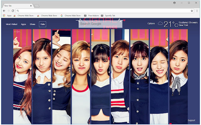 Kpop Twice HD Wallpapers New Tab Themes | HD Wallpapers & Backgrounds