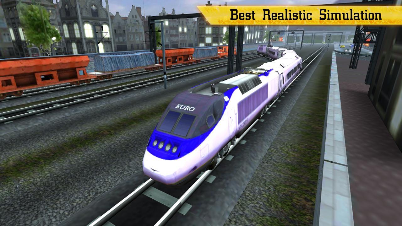 Control Railroad Locomotive
