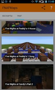 скачать бесплатно карту fnaf2 хоррор на майнкрафт 1.8.1 #7