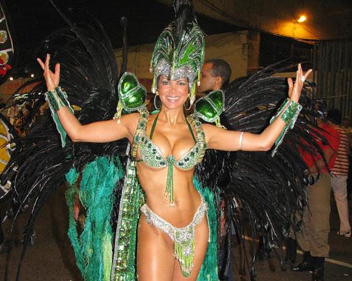 rio-carnaval-dancer.jpg - A dancer at Brasil Carnaval in Rio de Janeiro.