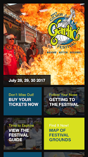 Gilroy Garlic Festival- screenshot thumbnail