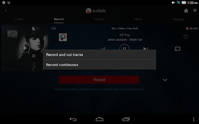 Radio Player, MP3-Recorder by Audials APK screenshot thumbnail 20