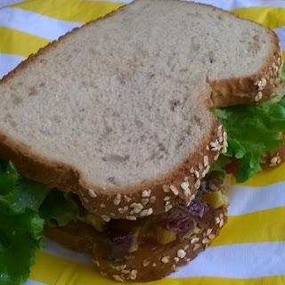 Egg Omelett Sandwich
