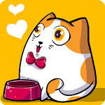 Fancy Cats - Cute cats dress up and match 3 puzzle Icon