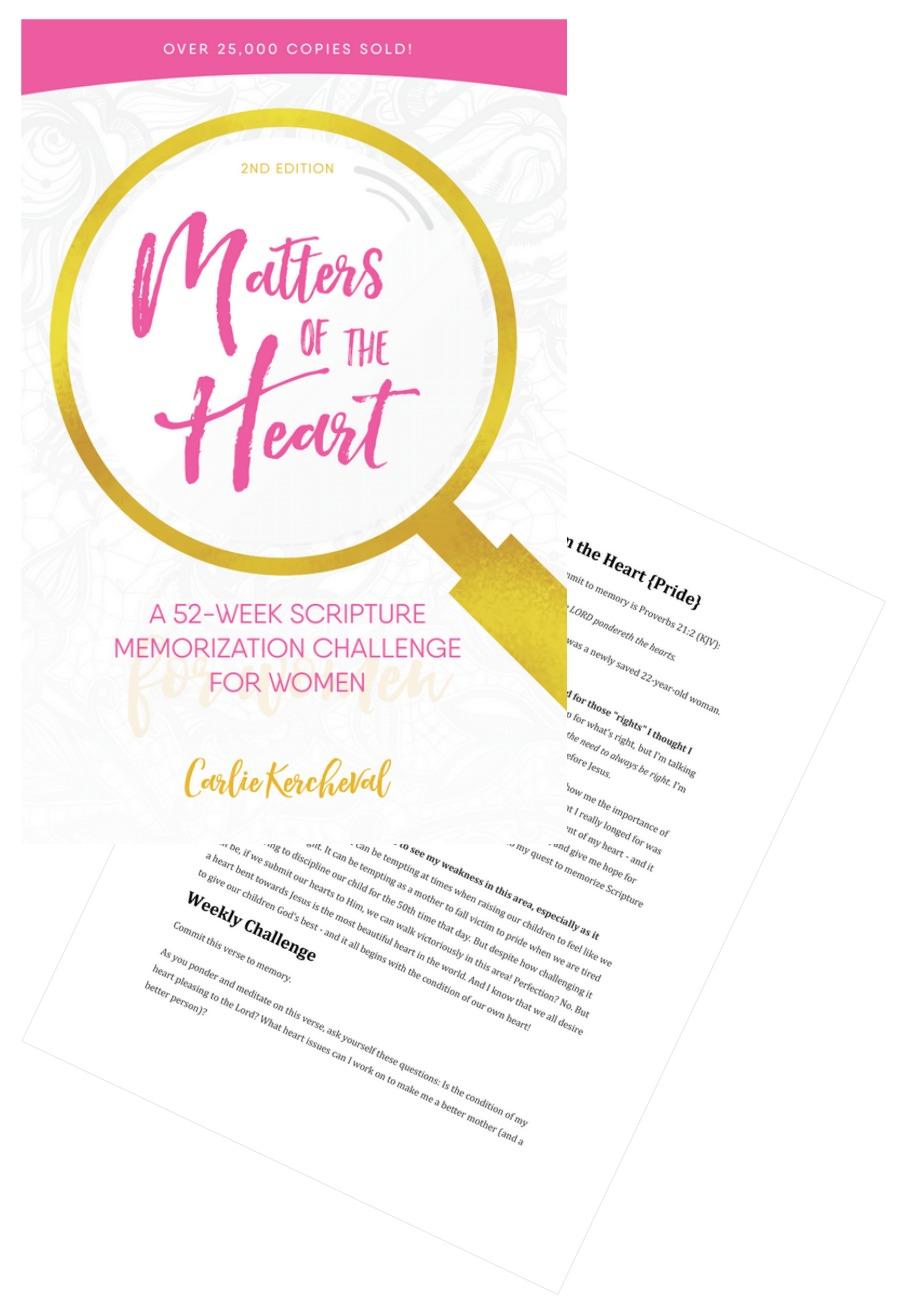 Scripture Memorization Challenge for Women