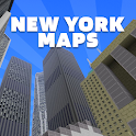 New York Maps for Minecraft PE icon