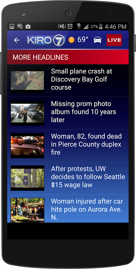 KIRO 7 News- screenshot