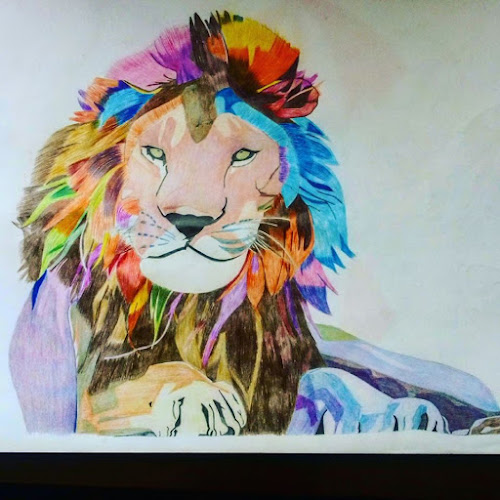 Lion drawing by Reagan Muriuki - Drawing All Drawing