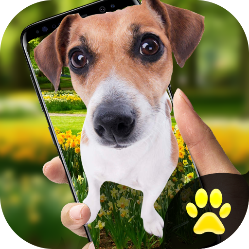 Dog on Screen Simulated - iDog