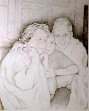 Photo: Family Portrait . graphite . 8x10
