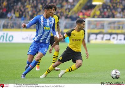 Hakimi s'épanouit à Dortmund et ne pense pas au Real