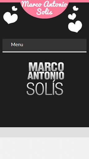 Letras de Marco Antonio Solis